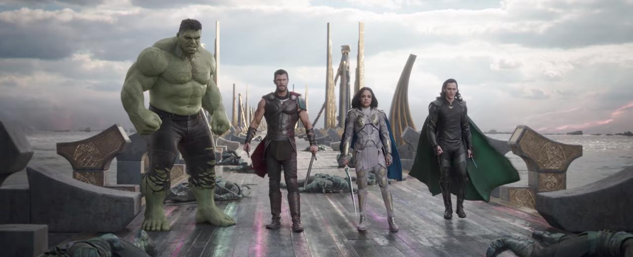 Thor: Ragnarok  major