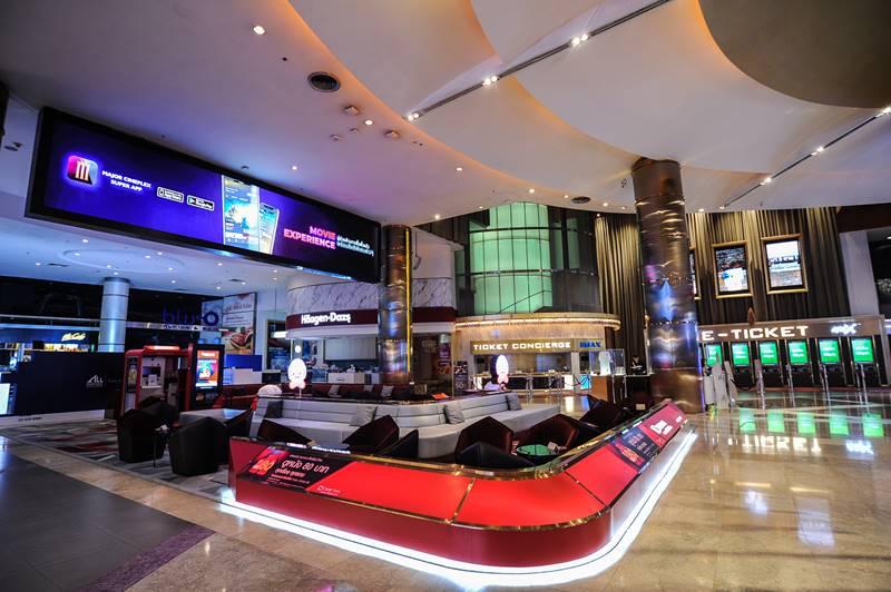 Paragon Cineplex - The Best cinema in Bangkok .