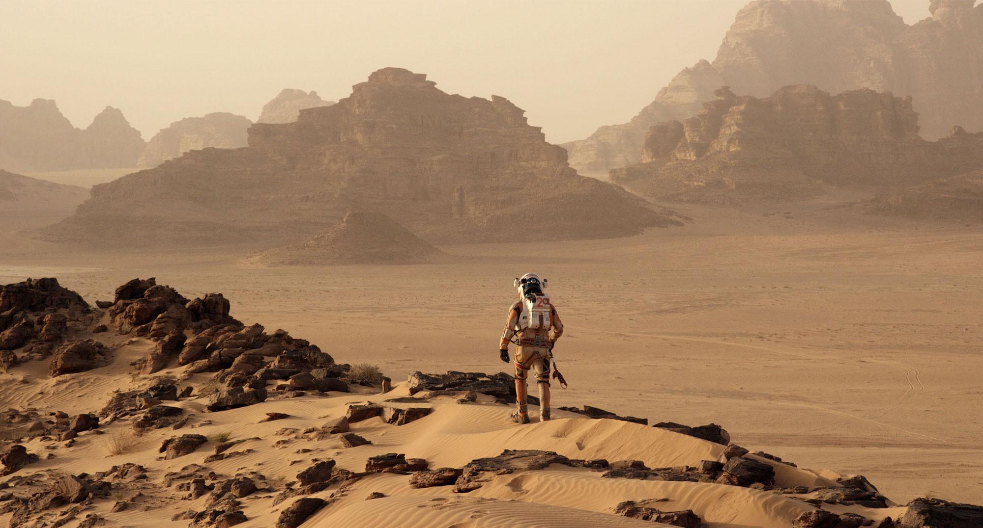 ภาพจาก The Martian