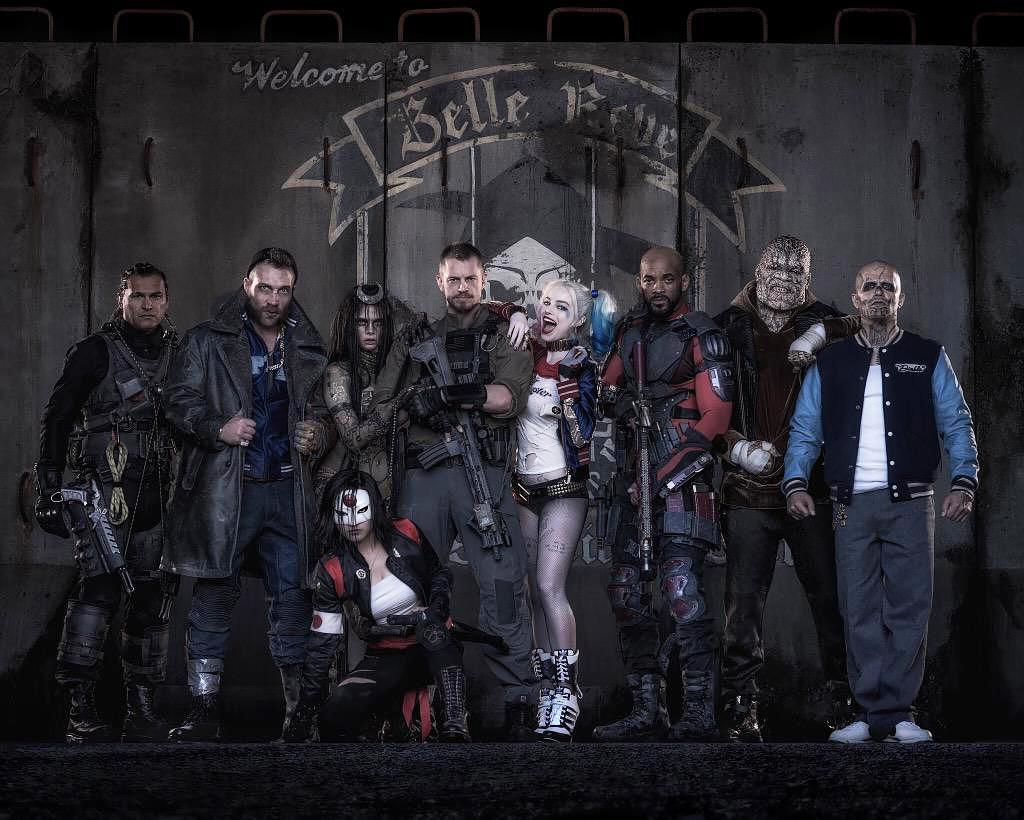 ภาพทีม Suicide Squad