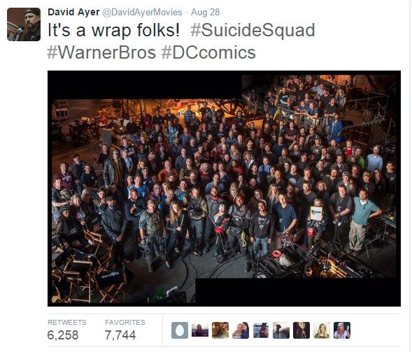 ภาพจากทวิตเตอร์ Suicide Squad